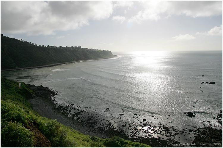 coastline sun