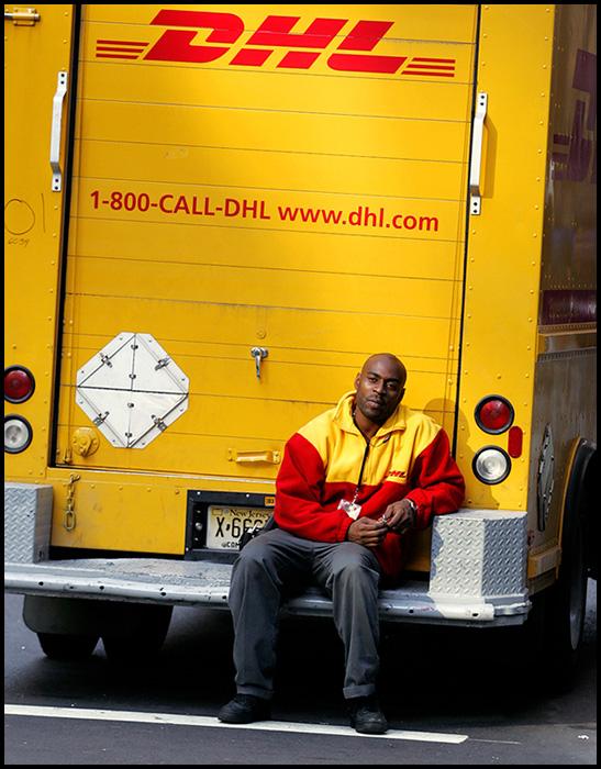 DHL man